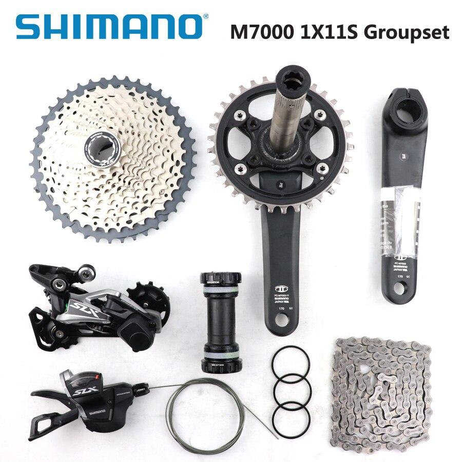 SHIMANO DEORE SLX M7000 groupe 34 T pédalier VTT groupe 1x11 S 40 T 42 T 46 T M7000 dérailleur arrière levier de vitesses BBMT800