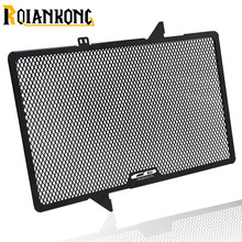 New Arrival For Honda CB650R CB 650 R 2019 Black CNC Radiator Grille Guard Cover Protector Motorcycle Accessories With LOGO