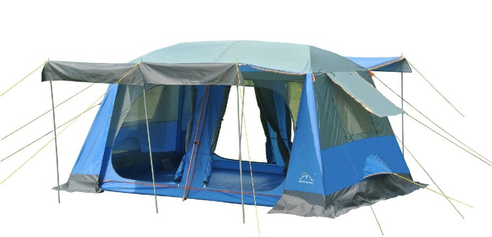 Large military tents8 10 people outdoor c&ing tent 2 rooms outdoor military c&ing tent for Family travel-in Sun Shelter from Sports u0026 Entertainment on ...  sc 1 st  AliExpress.com & Large military tents8 10 people outdoor camping tent 2 rooms ...
