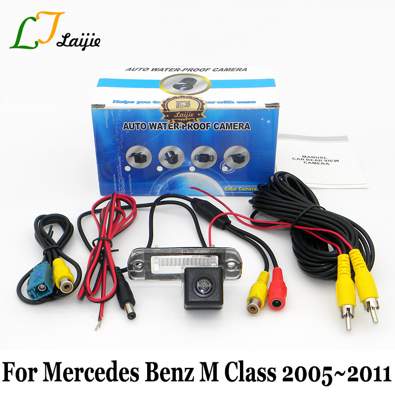 Laijie Car Rear View Camera For Mercedes Benz M Class W164 ML 2005~2011 / HD Auto Back Up Reverse Parking Camera / NTSC PAL