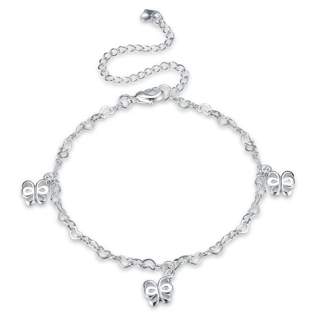 Owl Foot Chain Cavigliere Silver Chaine De Pied Ankle Bracelets Feminina Enkelbandje Anklets Jewelry For