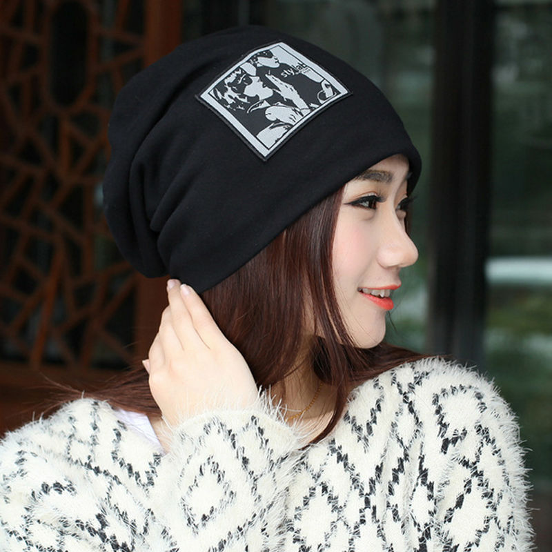2017 New Fashion Women's Hat Skullies for Beanies Cotton Hats Beanie Hats Winter Warm Casual Women Beanies Hats Gorro Beanie Cap skullies