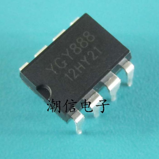 4pcs/lot YGY888 YGY 888 DIP-8 In Stock