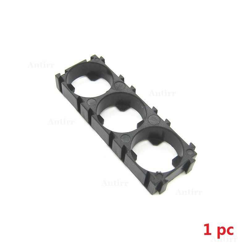1 pièce 1p 2p 3p 18650 support de batterie support de cellule bricolage cylindrique Batteries Pack montage sécurité Vibration boîtier boîte de rangement pince
