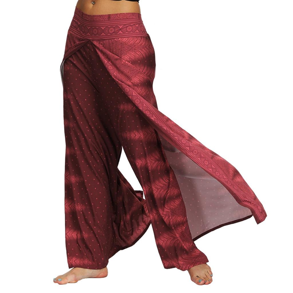 Women Pantalon Femme Harem Pants Pantalones Mujer Pantalones De Mujer Streetwear 2019 Casual Summer Loose Baggy Boho Pants Z4