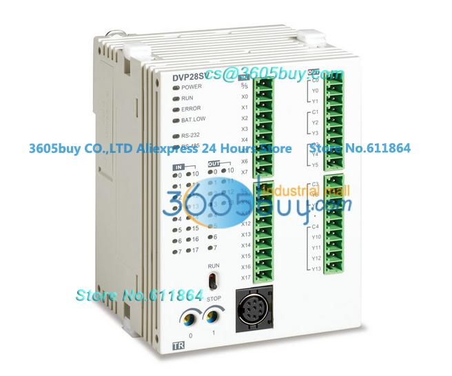 New original DVP28SV11R Delta PLC SV series 24VDC 16DI 12DO Relay output