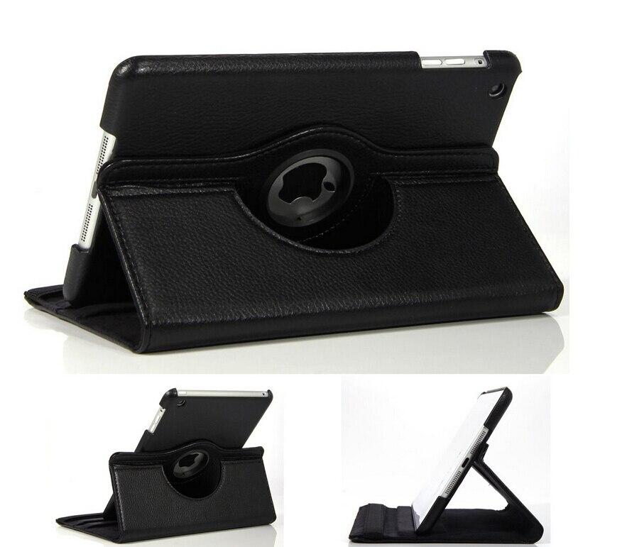 Estuche giratorio de cuero caliente de la pu 360 grados caso de - Accesorios para tablets