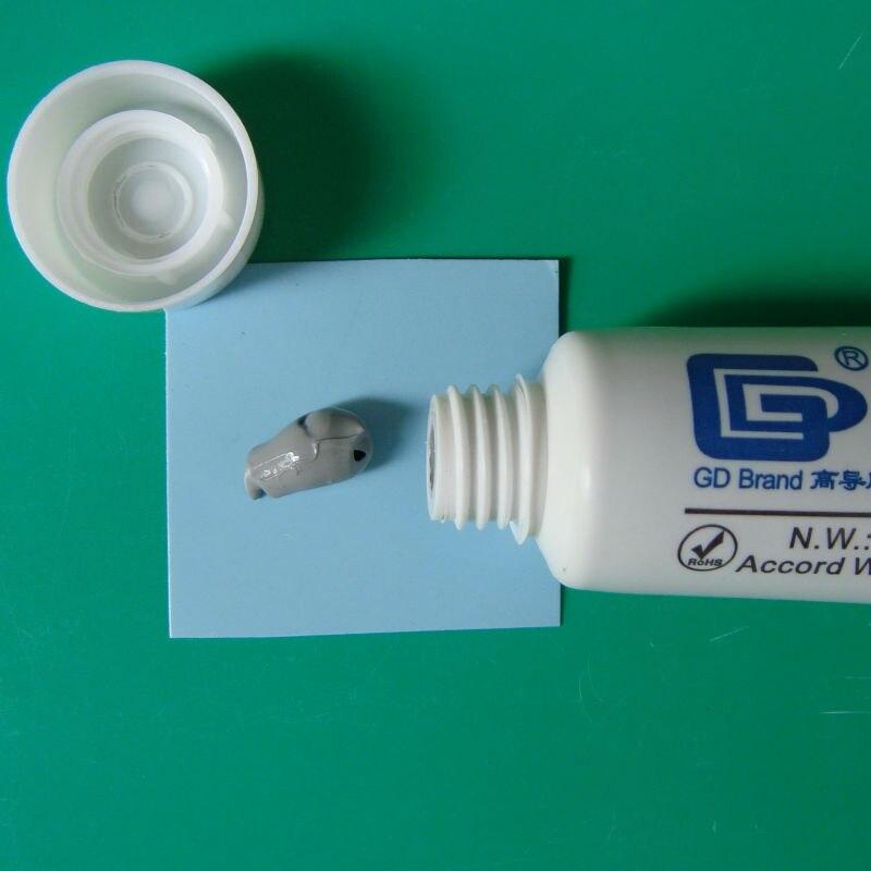 GD900 Pâte thermique conductrice Pâte de silicone en plâtre - Composants informatiques - Photo 5