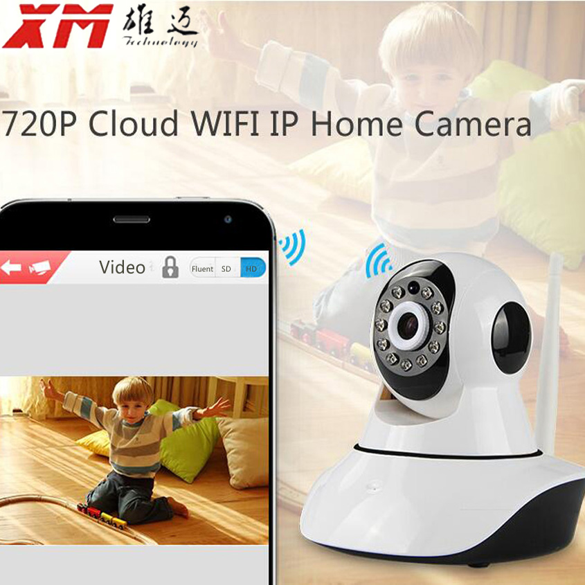 EU Russian 720P IP Camera Network CCTV Wifi Security Camera Wireless IR Infrared Night Vision