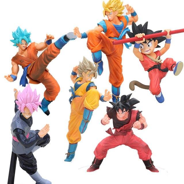 Super Saiyan Super Goku God FES dragonball son goku child black son goku Fes Figure Figurine DBZ Collection Model Brinquedos toy figurine