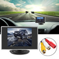 Nova marca Mini 3.5 ''TFT LCD Monitor Do Carro de Estacionamento Traseiro Do Carro ver Reversa 2Ch Entrada de Vídeo Monitor Do Carro Retrovisor Para Camera DVD