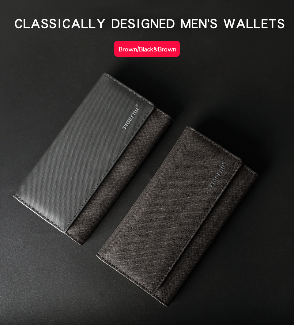 1.black men wallets