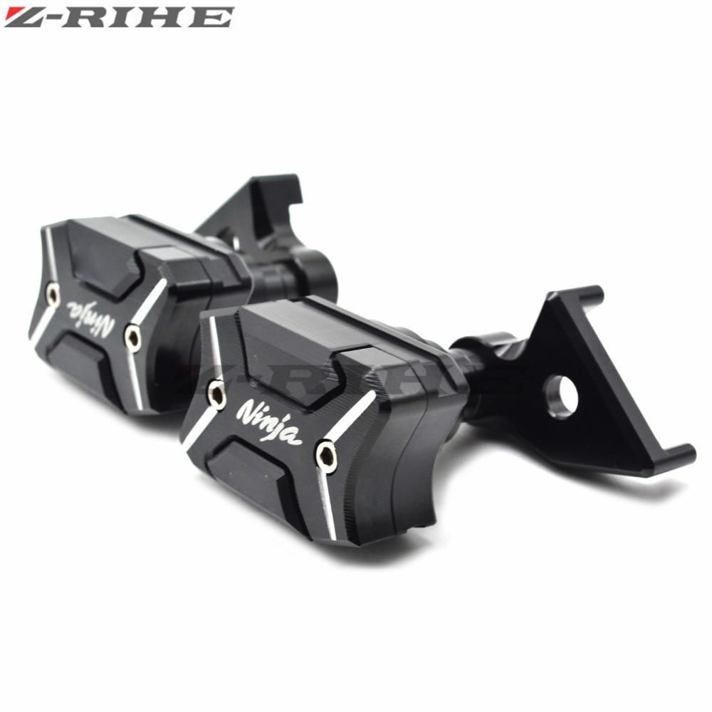 For Kawasaki Frame Sliders Crash Pads Protecter For Kawasaki Ninja ZX10R Ninja 2011-2013 1Set Hot Styling Covers