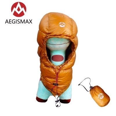 AEGISMAX Goose Dow Hood Hat for Envelope Sleeping Bag 2