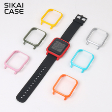 SIKAI For Xiaomi Huami Amazfit Watch Accessories PC Case For Huami Amazfit Bip Bit Youth Edition