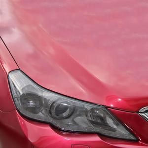 Image 3 - Universal 30x107CM PVC Perforated Mesh Hollow Film Car Headlight Taillight Car Styling Car Light Sticker  Car Wrap