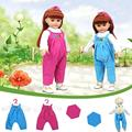 18 Inch American Girl Top Pants T-shirt Handmade Dolls Clothes Girls Kids Toys