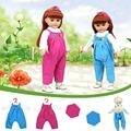18 pulgadas muñecas american girl top pantalones camiseta hecha a mano ropa girls kids toys