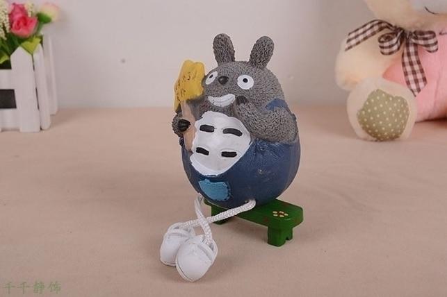 Outseam Totoro Piggy Bank Resin Handicraft The Restaurent Supply Hot Products Unisex Simul