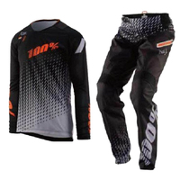 100% MX Gear Set for Honda Motocross Dirt Bike Off Road Racing Riding Men's Jersey Pant Combo