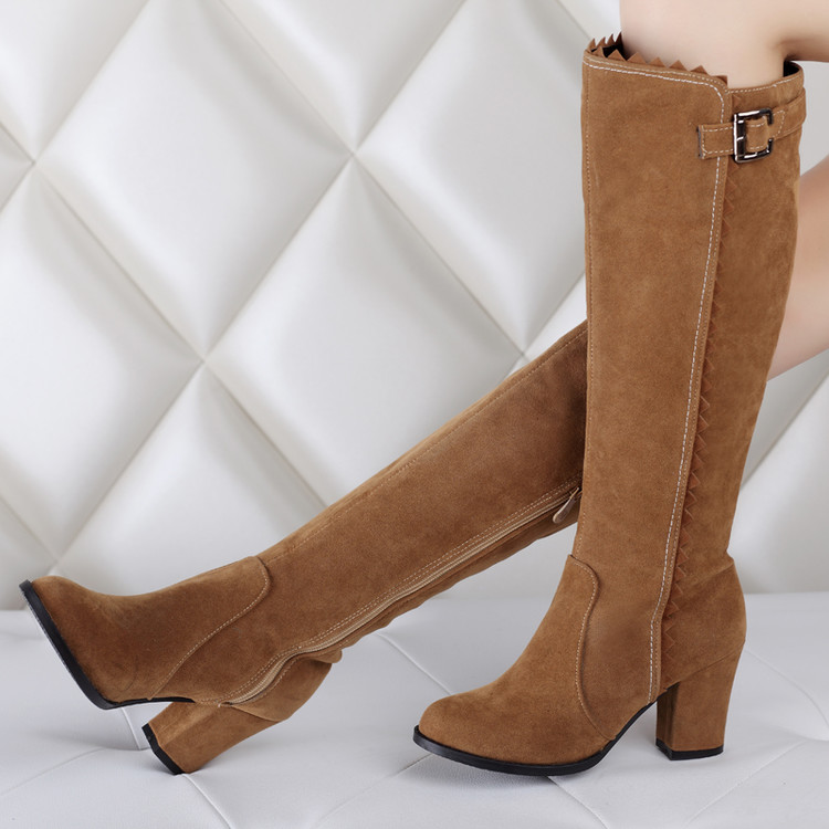 2017 Winter Boots Botas Mujer Shoes Women Boots Fashion Motocicleta Mulheres Martin Outono Inverno Botas De Couro Femininas 721bota de couro femininabotas mujerbotas de couro -
