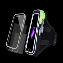 Waterproof Universal Brassard Running Gym Sport Armband Case Mobile Phone Arm Band Bag Holder for iPhone Smartphone on Hand