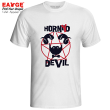 Do Not Mess With Me I Am A Horned Devil T Shirt Funny Pattern Motto Fashion Punk Active T-shirt Print Design Novelty Unisex Tee