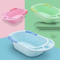 Baby Bath Tub Bucket Non Toxic Bathtub for Baby Bathing Lengthen Thickening Children Can Sit In the Reclining Tub Newborn Bath