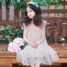Princess Girl Dress Summer 2017 Tutu Wedding Birthday Party Dresses For Girls Children's Costume Teenager Prom Design Girl Cloth