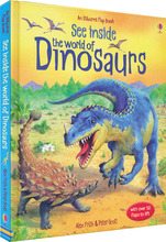 See Inside World of Dinosaurs Flap Book