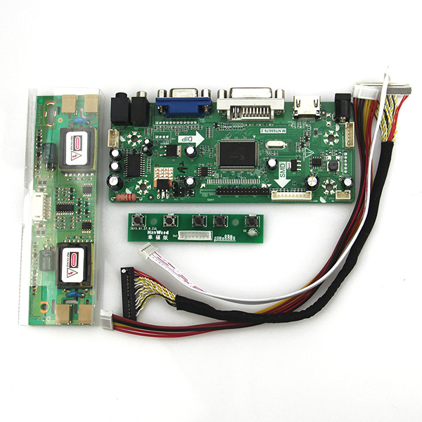 M.NT68676 LCD/LED Controller Driver Board(HDMI+VGA+DVI+Audio) For LM170E03 M170EN01 LVDS Monitor Reuse Laptop 1280*1024