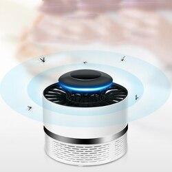Gorąca sprzedaż urządzenie przeciw komarom światło USB pułapka Fly łapka na owady lampa elektryczna 7W do sypialni domu TY w Lampy na komary od Lampy i oświetlenie na