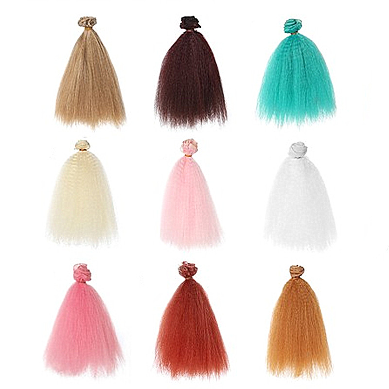 KKWEZVA colors assorted slinky fibre long synthetic kinky hair /slinky fiber fly tying materials for Clouser minnow fishes