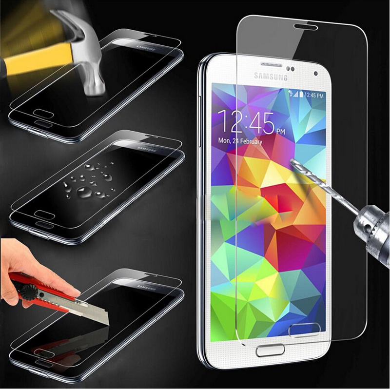 Premium Tempered Glass For Samsung Galaxy S3 S4 S5 S6 J1 Mini J3 J5 J7 A3 A5 A7 2016 Gra ...