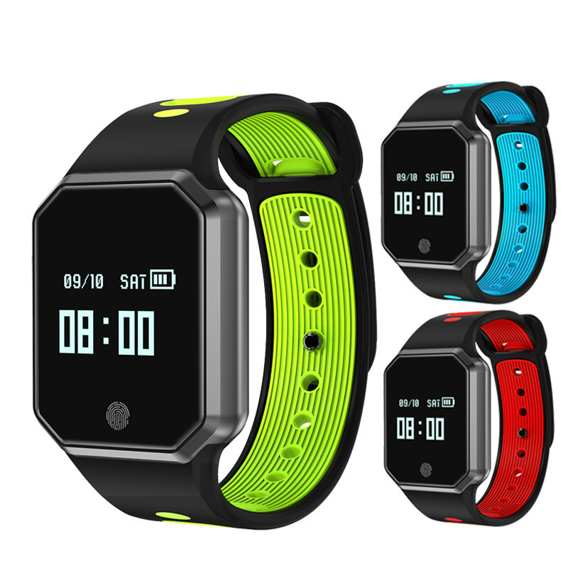 Men women for smart watch QW11 Pedometer Blood Pressure Monitor Wrist Watch Pulse Meter Heart Rate Fitness Tracker Wristband