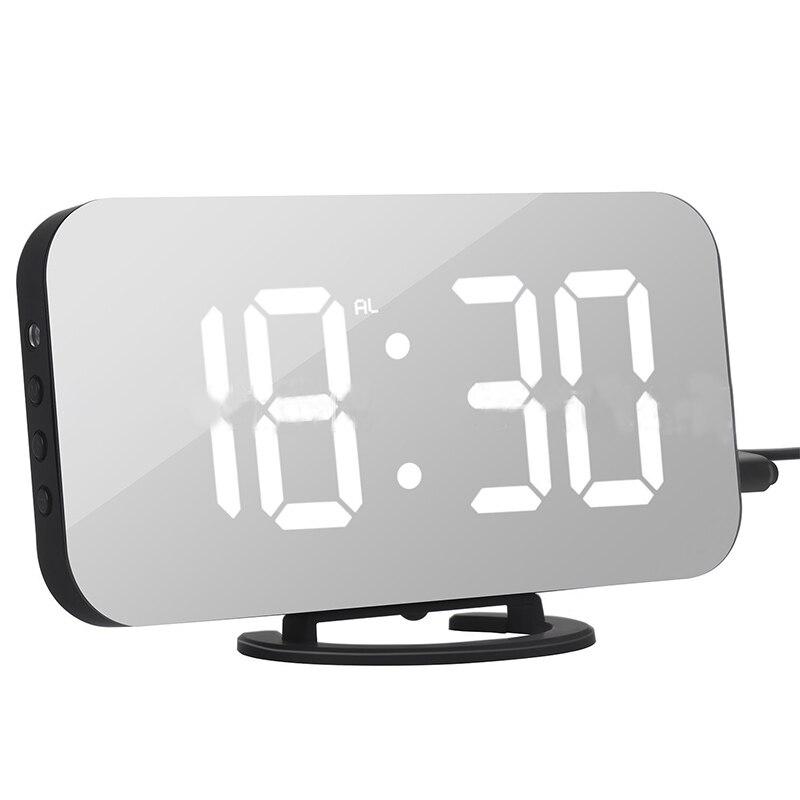 Multifunction LED Mirror <font><b>Alarm</b></font> <font><b>