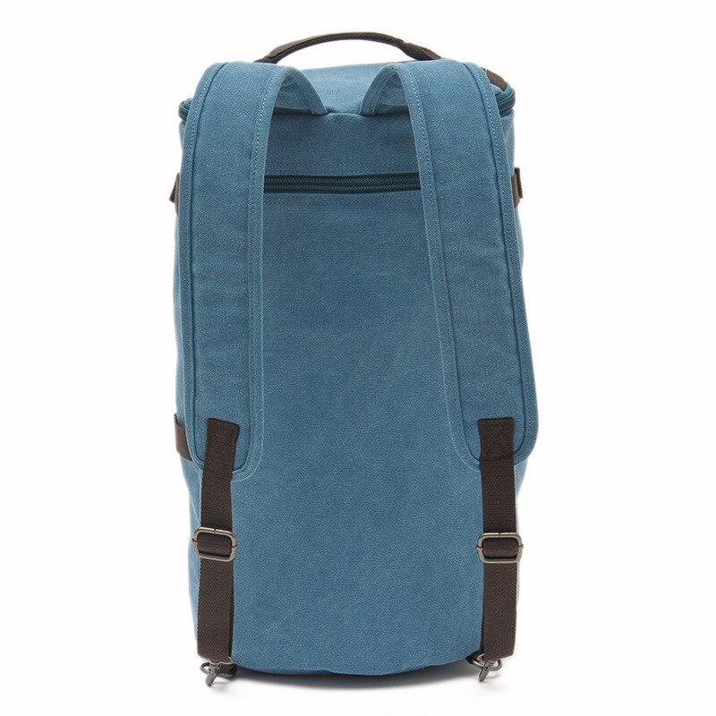 Grande capacité multifonction unisexe sac de voyage alpinisme sac à dos hommes sacs toile seau sac à bandoulière sac de voyage pour hommes - 6