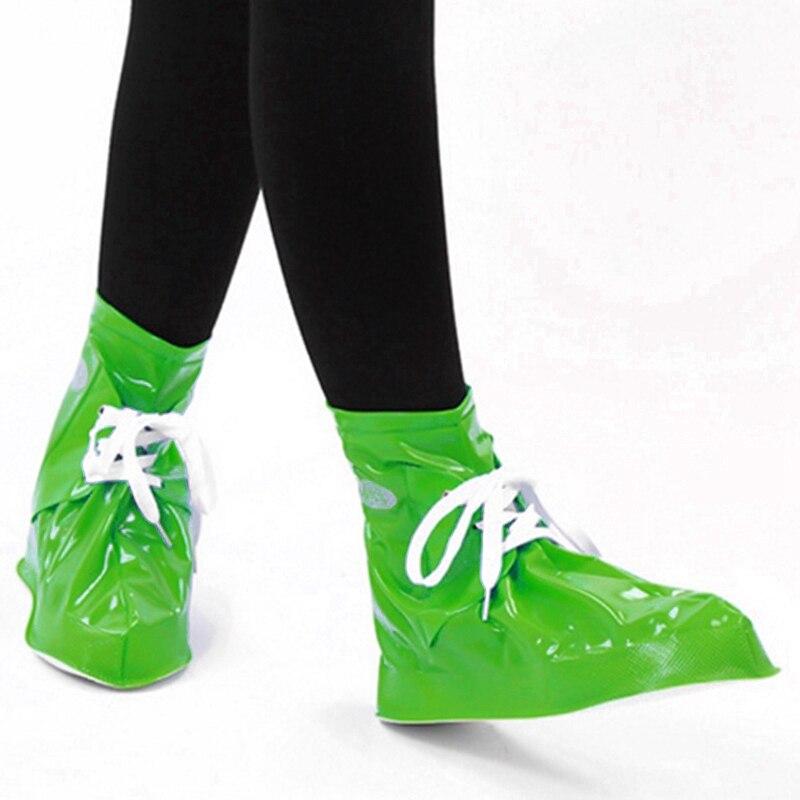 Men Women Rain Shoes Cover Flat Ankle Boots Cover Waterproof Rain Boots Shoes Cover Solid Cover цена 2017