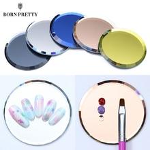 Color Palette False Nail Tips Display