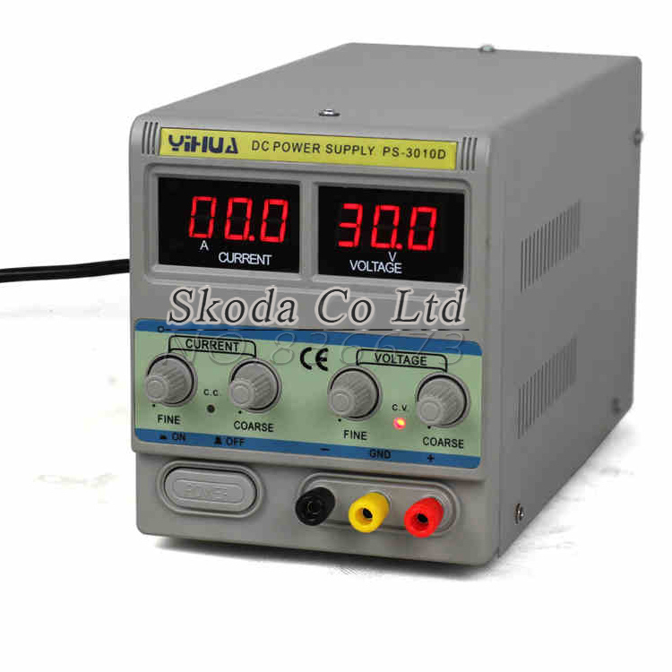 YH3010D high-precision adjustable DC power supply 30V10A For mobile phone laptop repair A/mA switching power supply kuaiqu high precision adjustable digital dc power supply 60v 5a for for mobile phone repair laboratory equipment maintenance