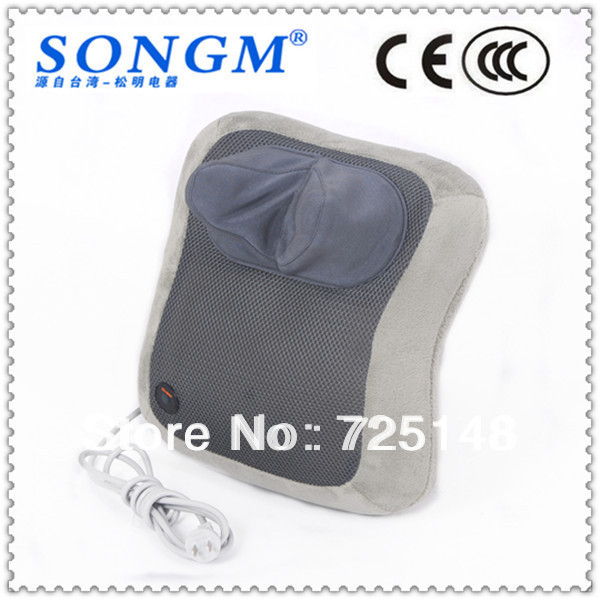 Free shipping Kneading and Rolling electric head massager massage pillow massage cushion