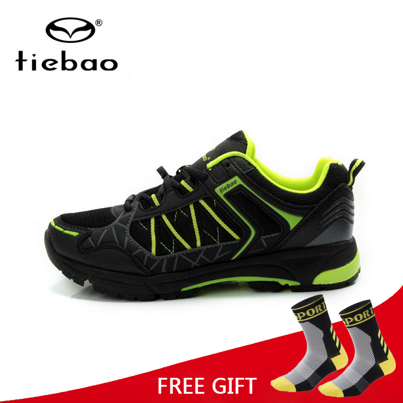 Tiebao Leisure Cycling Shoes Men Bicycle Riding Shoes MTB Bike Self Locking Shoes sapatilhas ciclismo Breathable