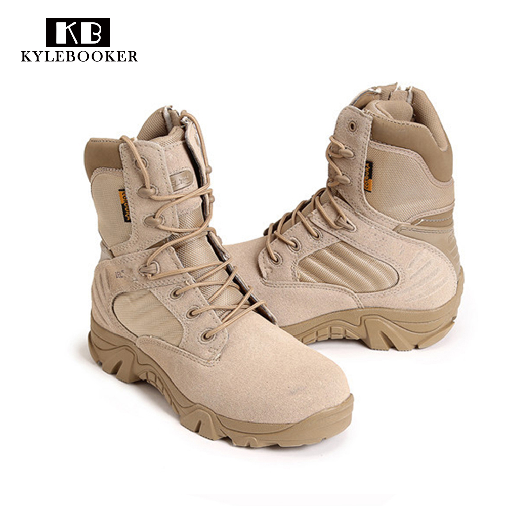 New Army Boots Men's Genuine Leather Snow Boots Shoes Outdoor Tactical Military Boots Men Desert Combat Boots Botas Militares outdoor tactical boots army combat military boots snow training boots men s hunting sports hiking boots desert camouflage shoes