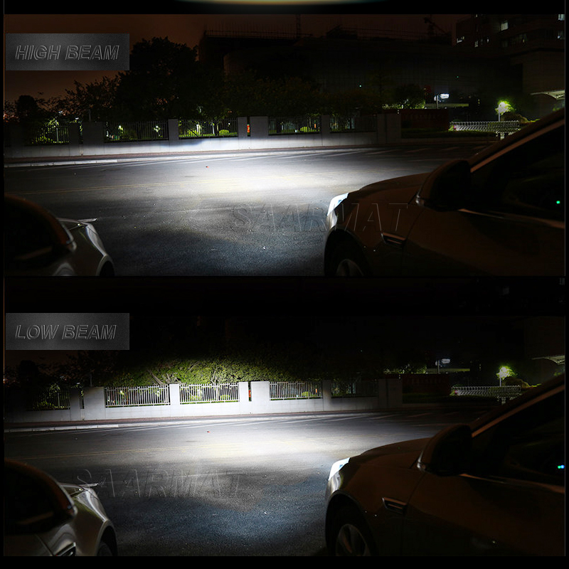 2X LED Bilstyling H7 H1 H3 H4 / HB2 H8 / H11 9005 / HB3 9006 / HB4 - Bilbelysning - Foto 3