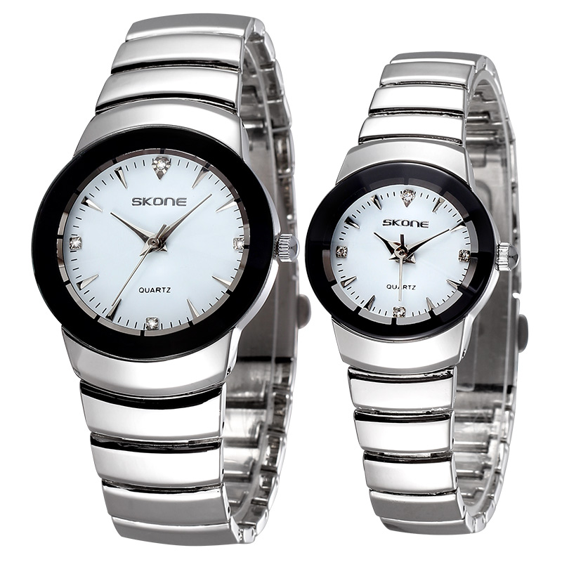Skone Couple Wristwatches Men And Women Valentine S Day Gift Japan