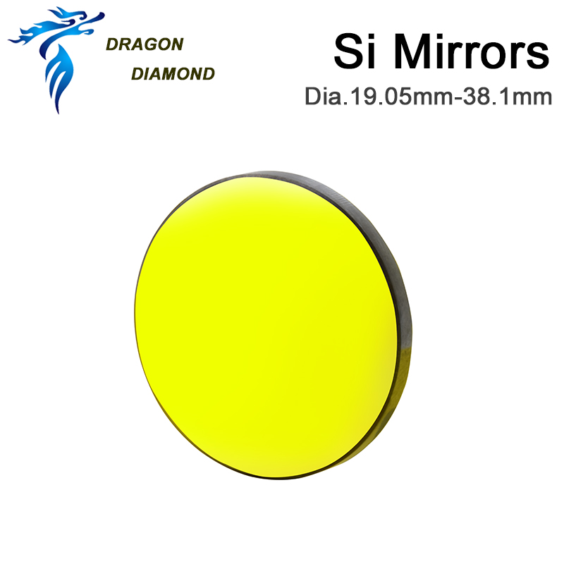 3 pz CO2 Laser Reflectiver Mirror Dia 19.05mm 20mm 25mm 30mm 38.1mm - Strumenti di misura - Fotografia 3