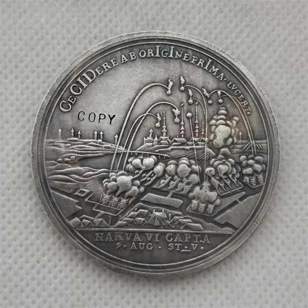 Tpye # 99_Russian gedenk medaille 50MM KOPIE MÜNZE FREIES VERSCHIFFEN