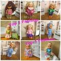 Arrvial 10 шт. ткань и платье для mini келли симба barbie кукла