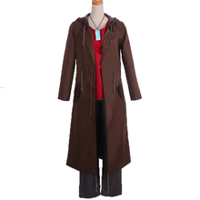 Anime Charlotte Otosaka Yuu Cosplay Costume Man Long Dust Coat Original Design Of Battle Dress Full Set