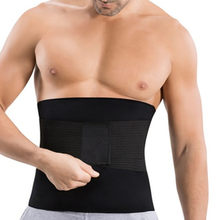 CHENYE Men's Thermal Slimming Belts with Waist Trainer Body Shaper Male Waist Shapewear Belly Band Modeling Belt Slimming Corset(China)